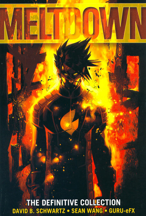 Graphic Novel Book Cover : Sean wang comic creator illustrator meltdown