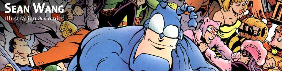 Banner Image from The Tick